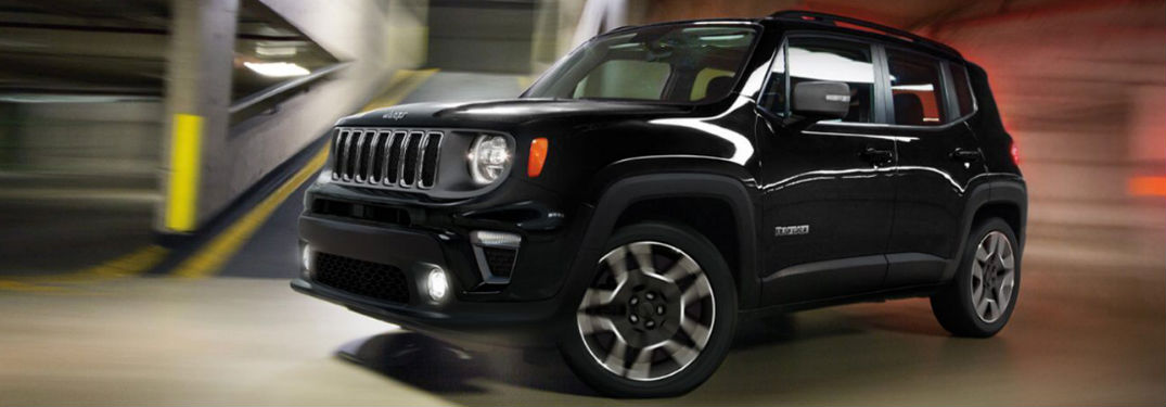 What colors are there on the Jeep Renegade?