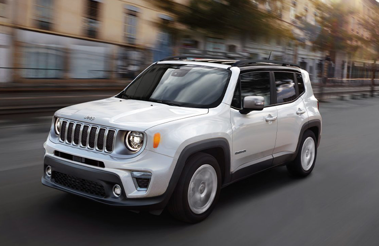 2020 Jeep Renegade in white