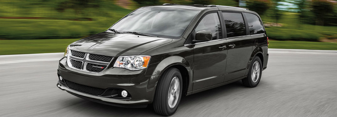 What colors are on the Dodge Grand Caravan?
