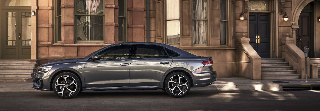 2020 VW Passat exterior drivers side profile