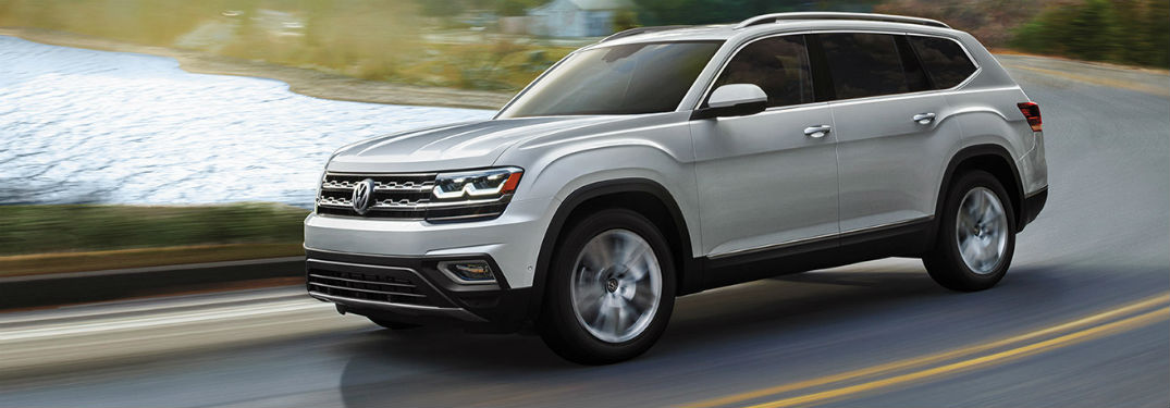 2019 VW Atlas exterior front fascia and drivers side
