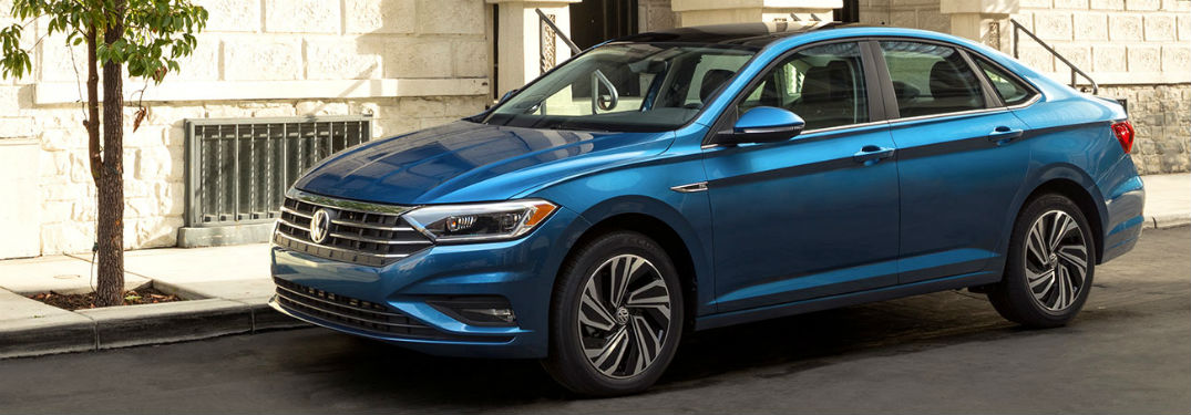 How much space does the 2019 Volkswagen Jetta have?