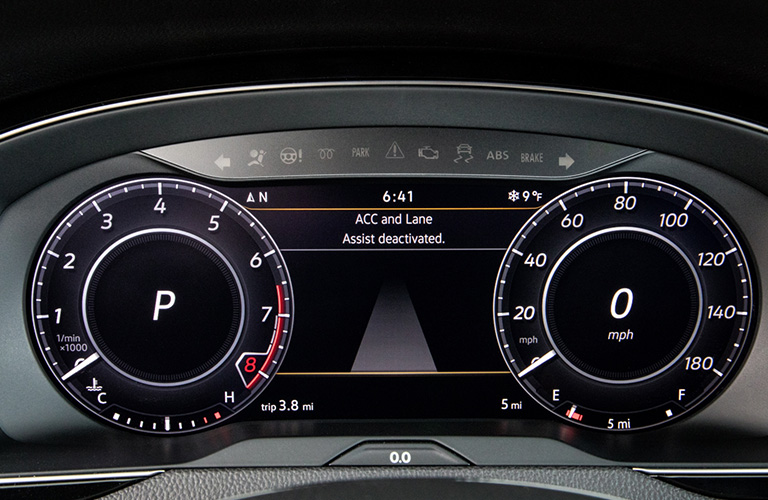 2019 vw arteon instrument panel
