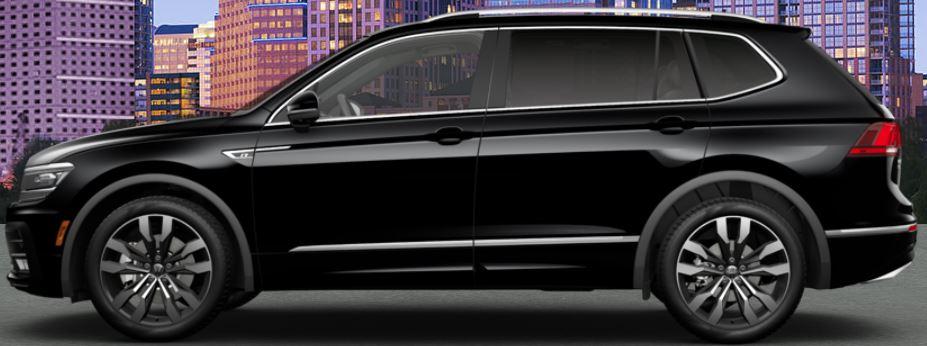 black 2020 Volkswagen Tiguan