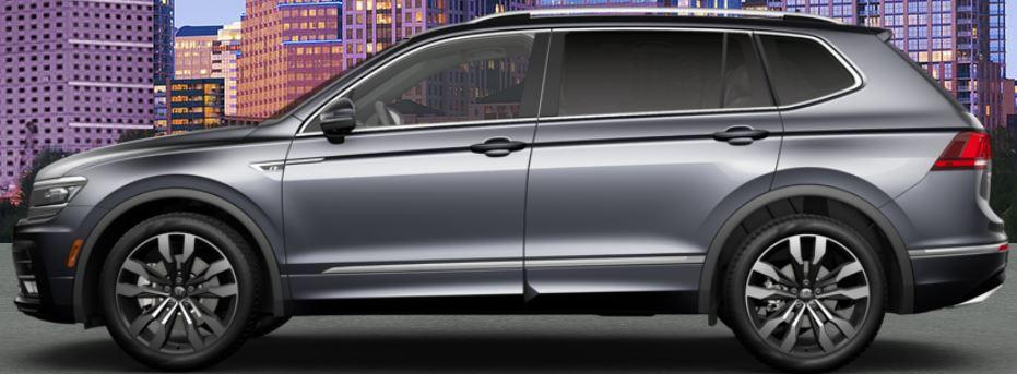 gray 2020 Volkswagen Tiguan
