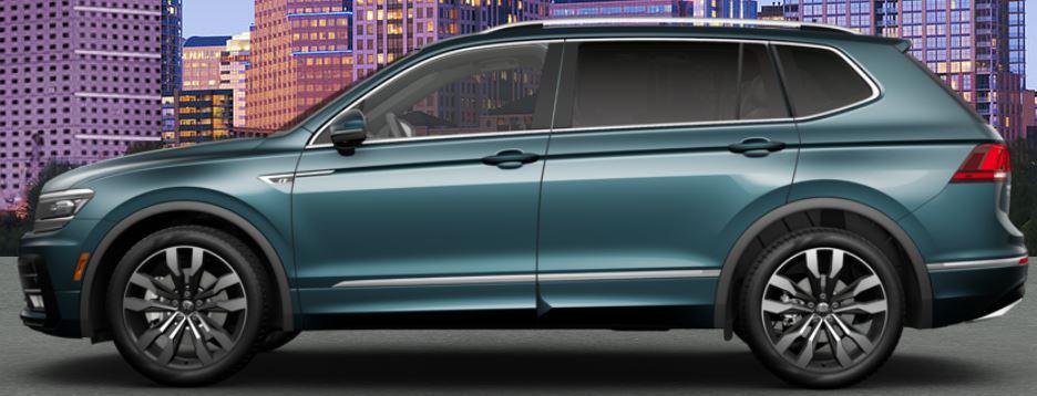 stone blue 2020 Volkswagen Tiguan