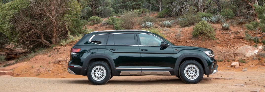 Volkswagen Atlas models now have the optional Basecamp Accessory Line to add on