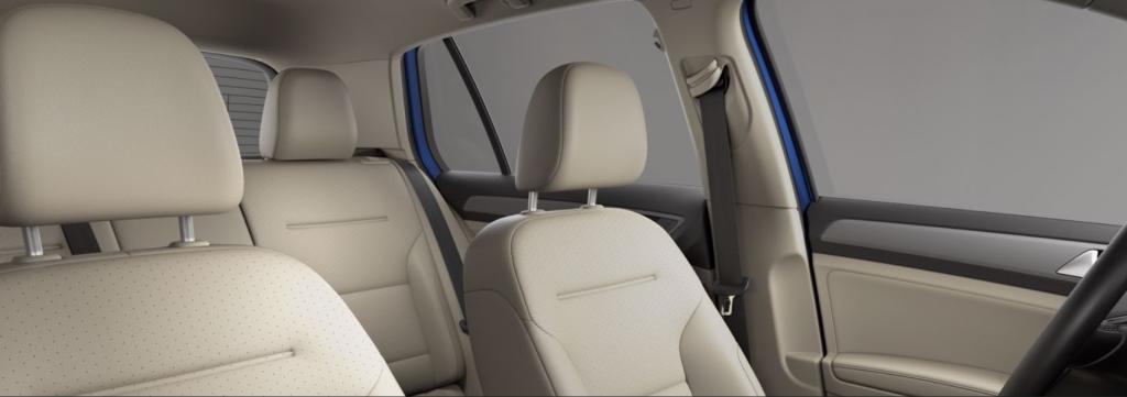 2020 VW Golf Beige V-Tex Leatherette seating