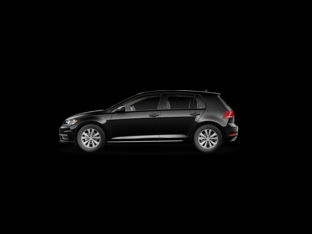 2020 VW Golf in Deep Black Pearl