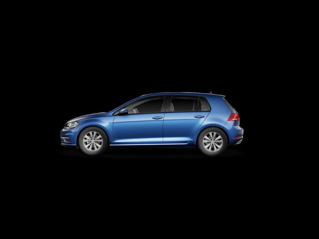 2020 VW Golf in Silk Blue Metallic
