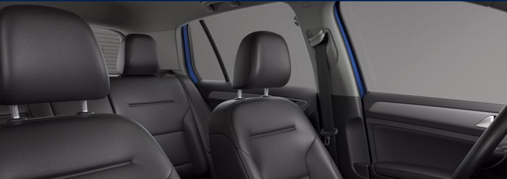 2020 VW Golf Titan Black V-Tex Leatherette seating