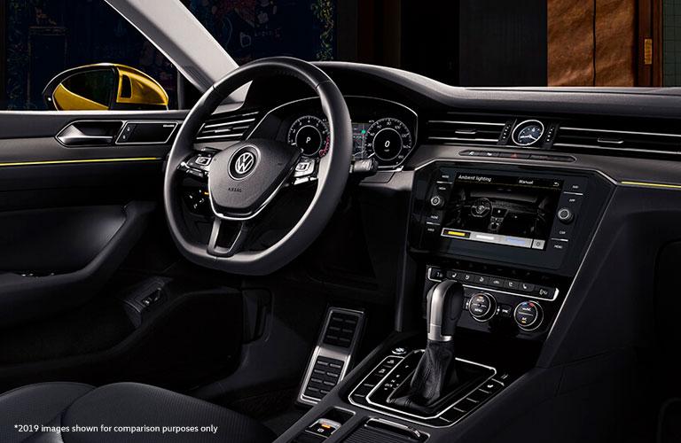 dashboard of the 2020 Volkswagen Arteon