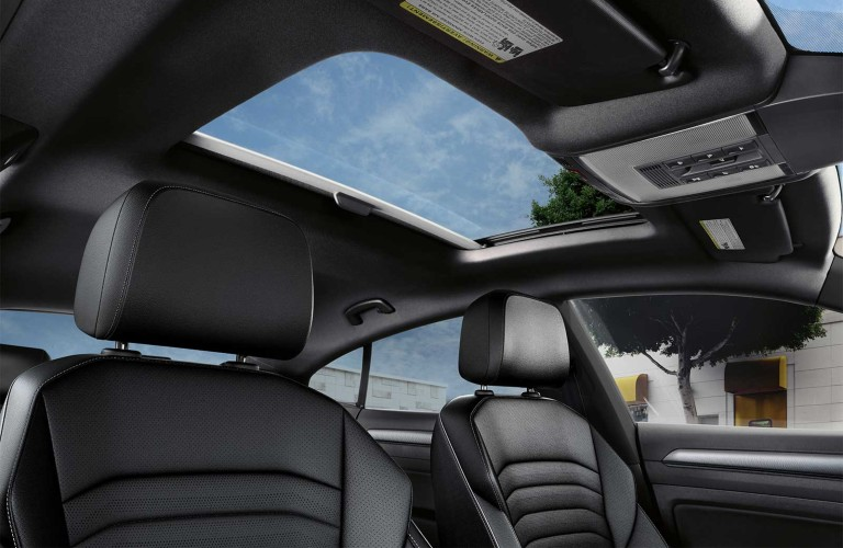 moonroof in the 2020 VW Arteon