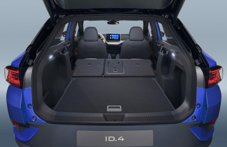 cargo space in the Volkswagen ID.4