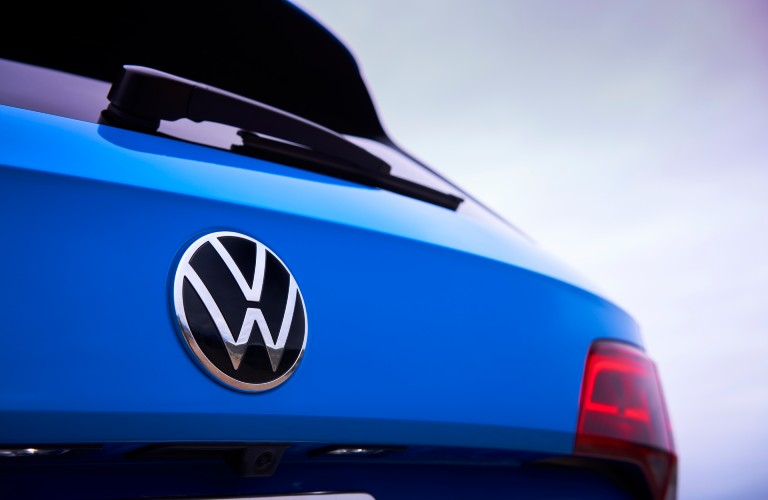 close up view of the 2022 Volkswagen Taos