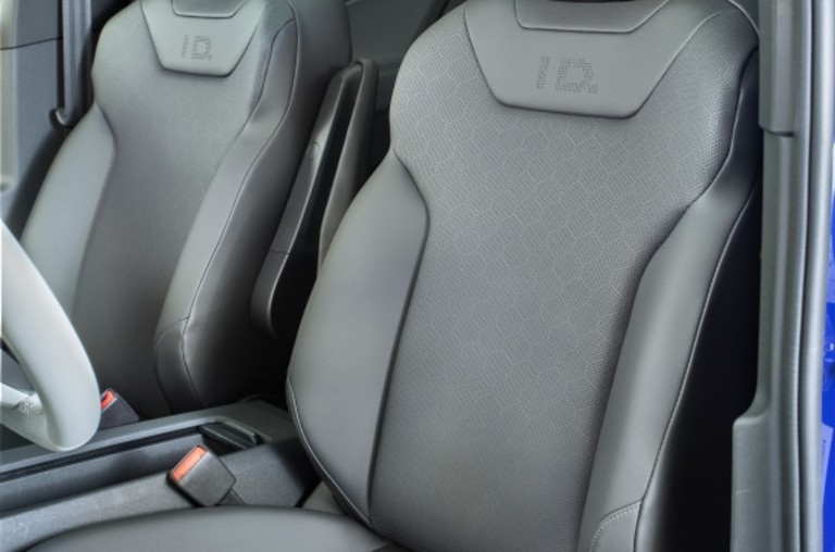 front seats in the Volkswagen ID.4