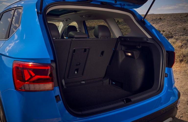 cargo space in the 2022 Volkswagen Taos