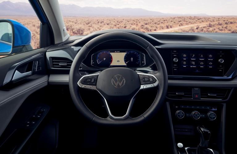 2022 Volkswagen Taos steering wheel