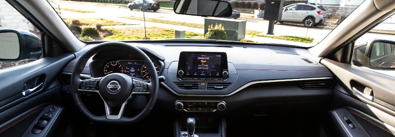 2021 Nissan Altima interior view