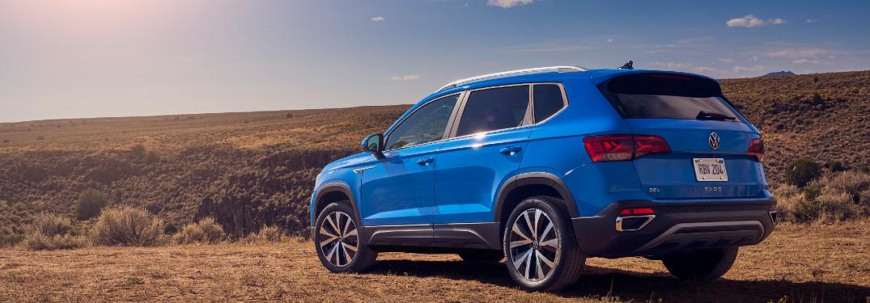 2022 Volkswagen Taos on mountain
