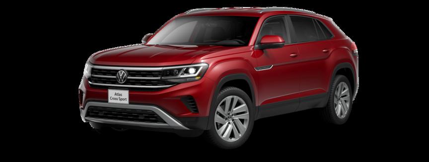 2021 Volkswagen Atlas Cross Sport in Aurora Red