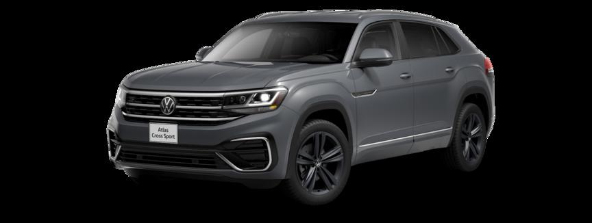2021 Volkswagen Atlas Cross Sport in Platinum Gray