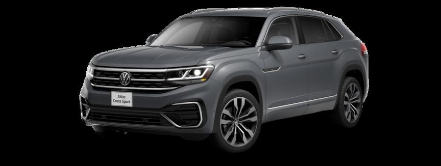 2021 Volkswagen Atlas Cross Sport in Pure Gray