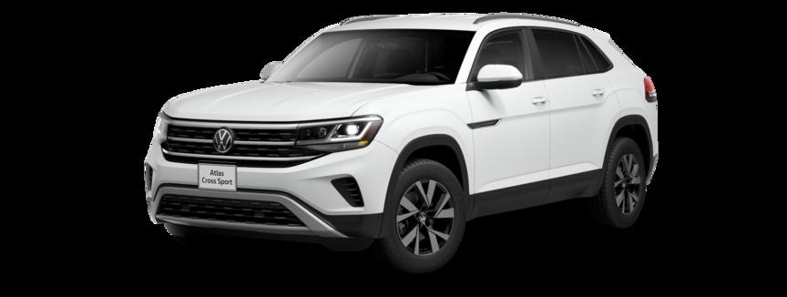 2021 Volkswagen Atlas Cross Sport in Pure White