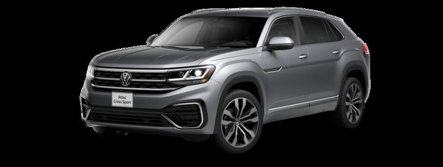 2021 Volkswagen Atlas Cross Sport in Pyrite Silver
