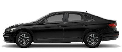 2021 VW Jetta in black