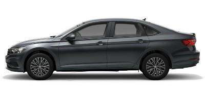 2021 VW Jetta in platinum gray