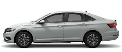2021 VW Jetta in pure white