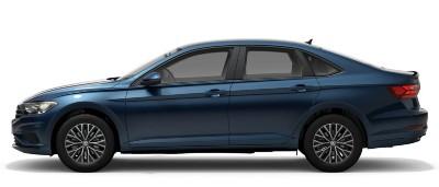 2021 VW Jetta in silk blue