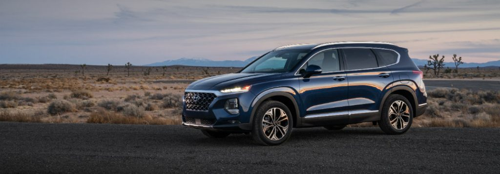 2019 hyundai santa fe safety and driver assistance features. Black Bedroom Furniture Sets. Home Design Ideas