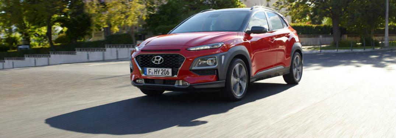 2018 Hyundai Kona front exterior