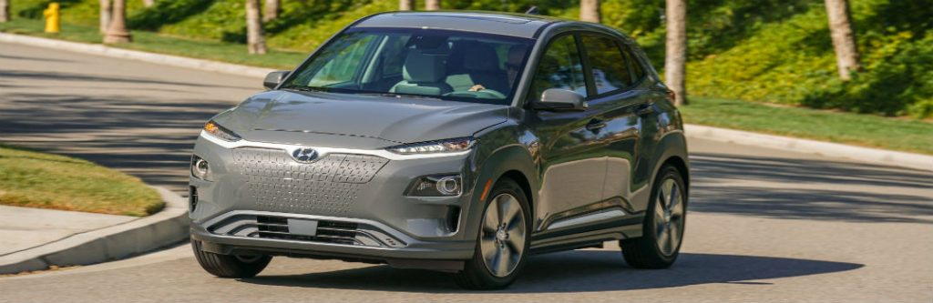2019 hyundai kona electric driving