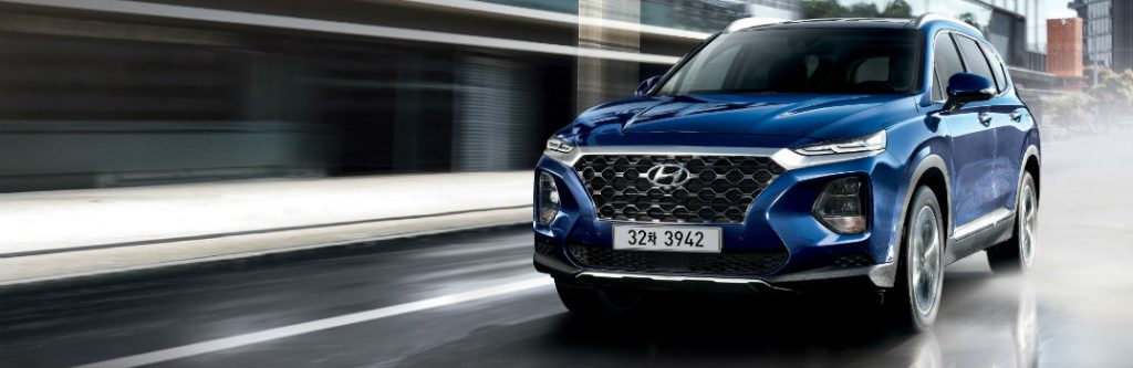 2019 Hyundai Santa Fe Exterior Paint Options