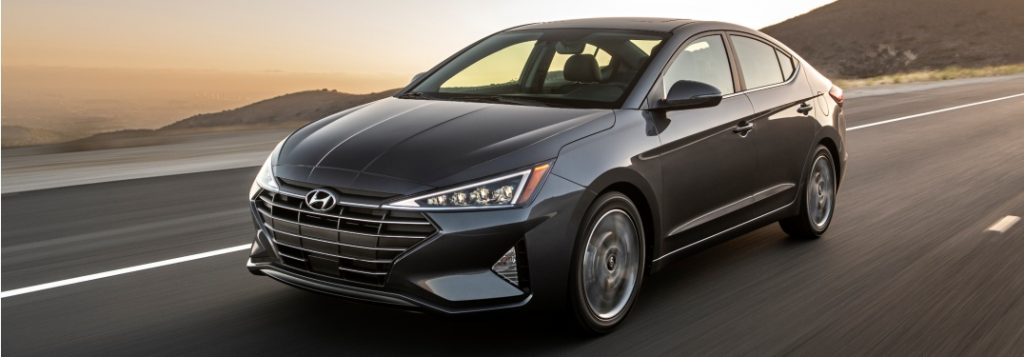 2019 hyundai elantra full view driving