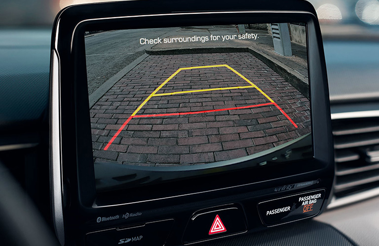 hyundai veloster rearview camera