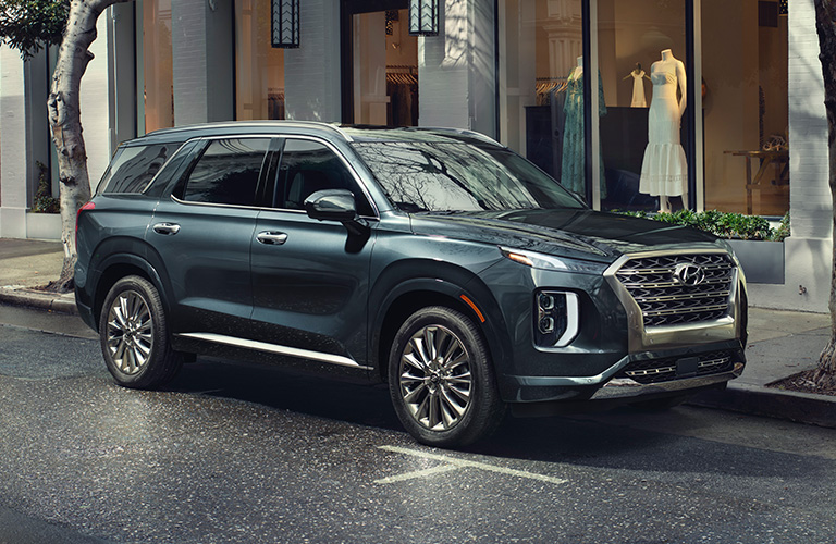 2020 Hyundai Palisade in a city