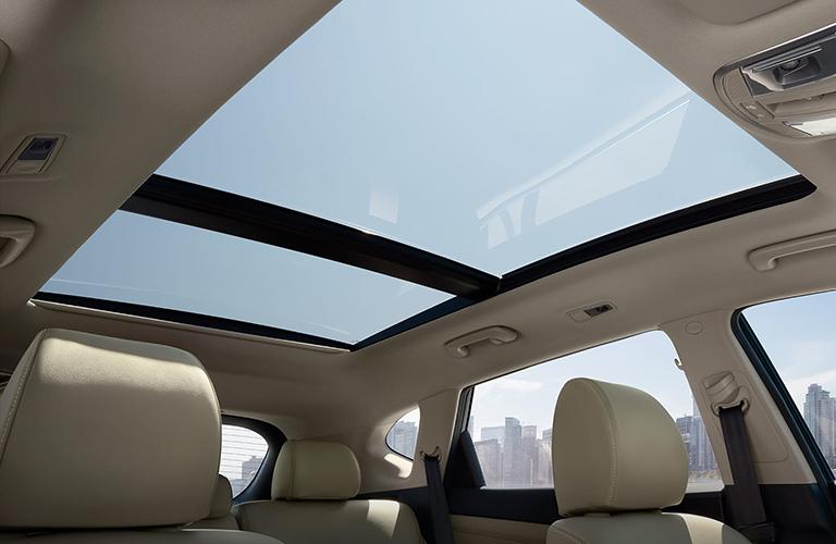 2020 Hyundai Tucson panoramic sunroof