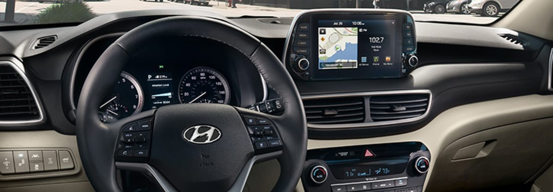 2020 Hyundai Tucson Interior Design