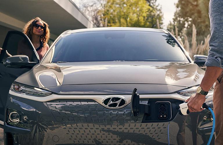2020 Hyundai Kona Electric front view