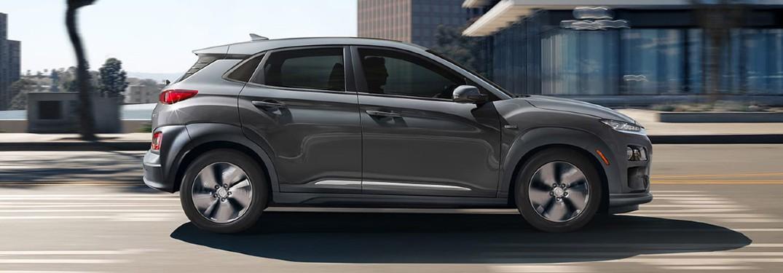 2020 Hyundai Kona Electric side view