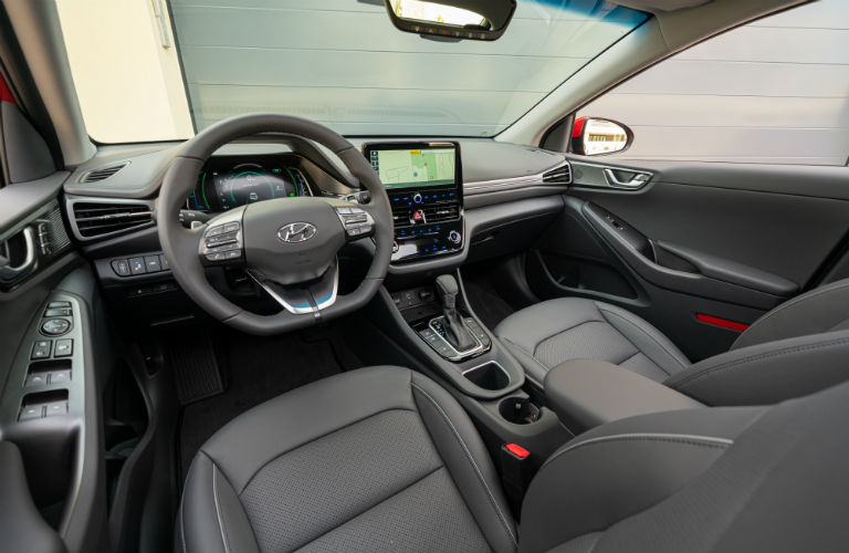 2020 Hyundai Ioniq Hybrid front seats