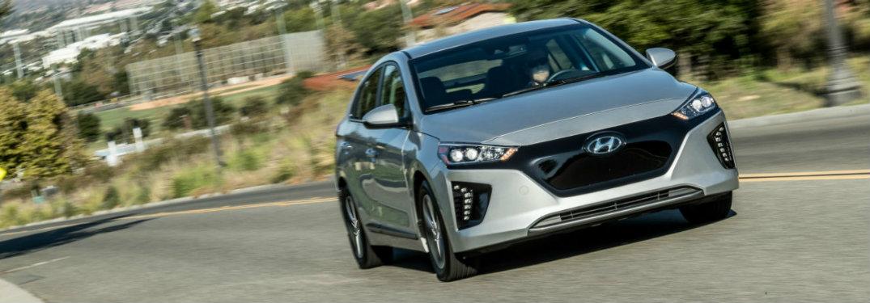 2018 Hyundai IONIQ ELECTRIC front exterior