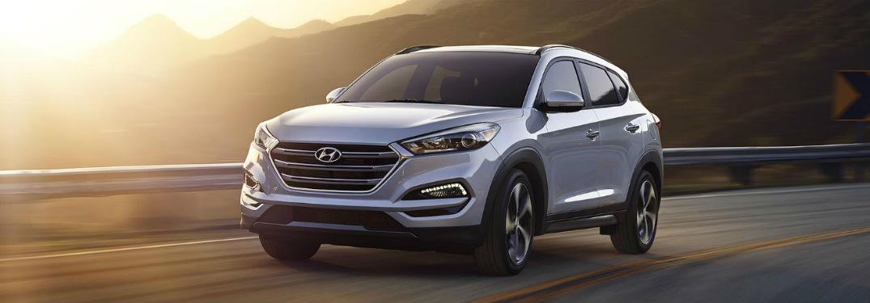 2018 Hyundai Tucson exterior front
