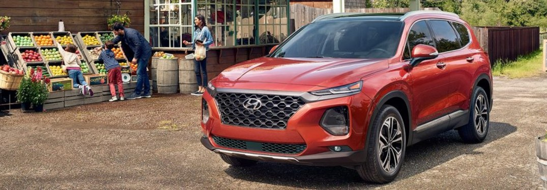 2020 Hyundai Santa Fe Cargo Space Maple Ridge Hyundai