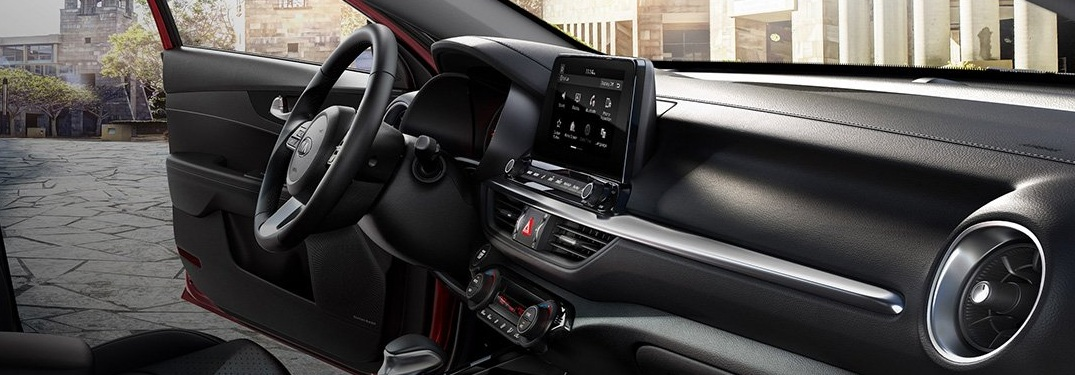 2019 Kia Forte dashboard and infotainment system