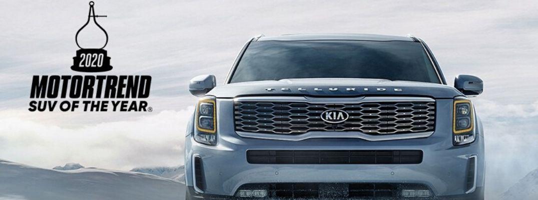 2020 Kia Telluride 2020 MotorTrend SUV of the Year Award Banner